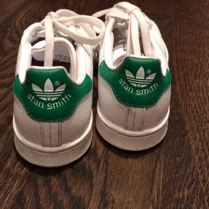 Adidas Stan Smith sneakers , white and green